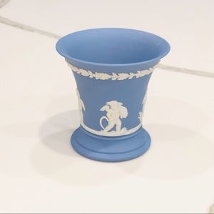 Vintage Wedgwood Jasperware Trumpet Vase